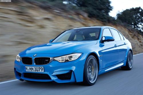 2014-BMW-M3-F80-Yas-Marina-Blue-Limousine-F30-02-655x436