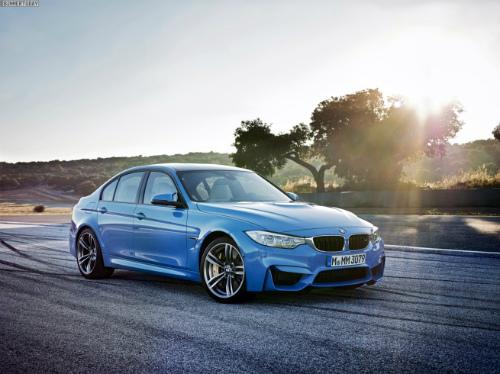 2014-BMW-M3-F80-Yas-Marina-Blue-Limousine-F30-08-655x490