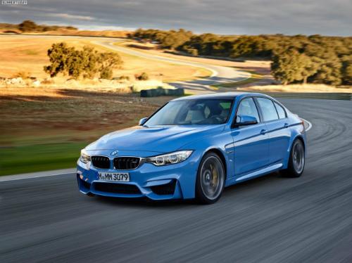 2014-BMW-M3-F80-Yas-Marina-Blue-Limousine-F30-10-655x490