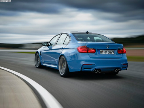 2014-BMW-M3-F80-Yas-Marina-Blue-Limousine-F30-11-655x490