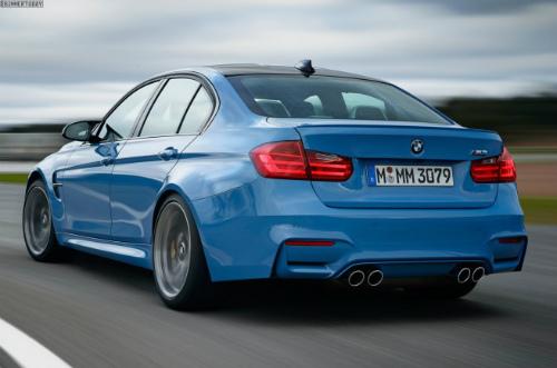 2014-BMW-M3-F80-Yas-Marina-Blue-Limousine-F30-12-655x433