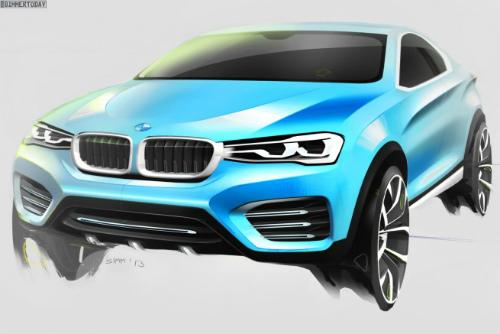 BMW-X4-Concept-2013-Shanghai-Design-Skizzen-01-655x437-2