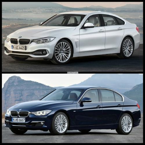 Bild-Vergleich-BMW-4er-Gran-Coupe-GC-F36-3er-F30-Limousine-Luxury-Line-01-655x655