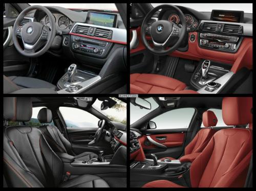 Bild-Vergleich-BMW-4er-Gran-Coupe-GC-F36-3er-F30-Limousine-Sport-Line-Interieur-655x490