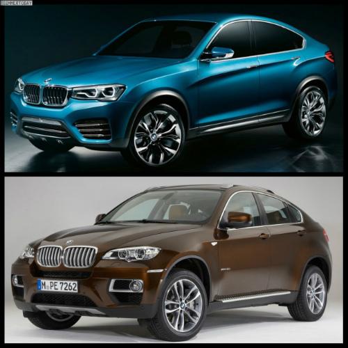 Bild-Vergleich-BMW-X4-Concept-F26-BMW-X6-E71-01-655x655-2